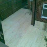 Decking complete, a great improvement!