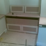 Pine and MDF drawer fronts