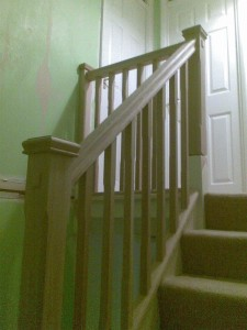 Oak Banister Refurb - Alton, Hants