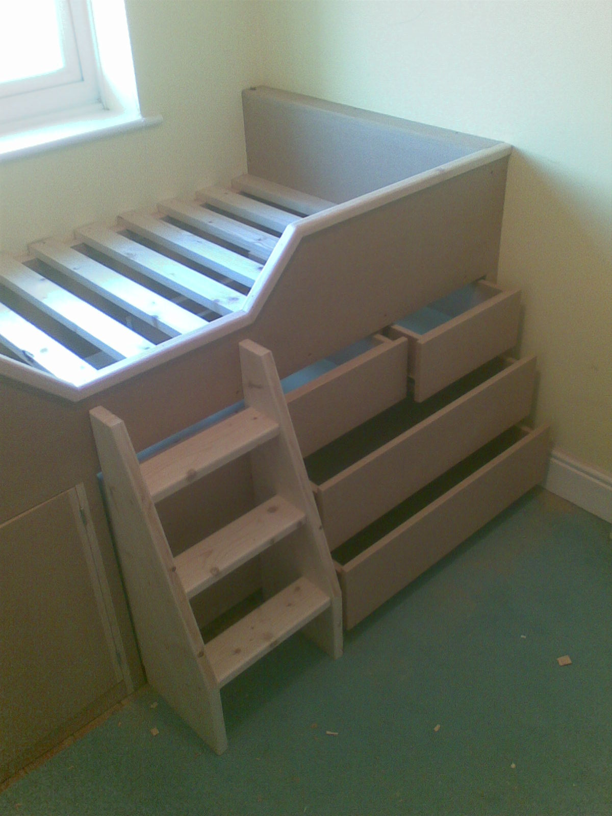 Next Childrens Bedrooms Built In Childrens Cabin Bed With Drawers Guildford Surrey The