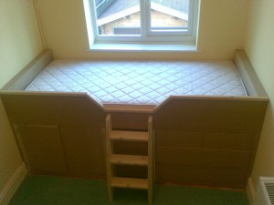 Built-in Cabin Bed with Drawers, Guildford, Surrey